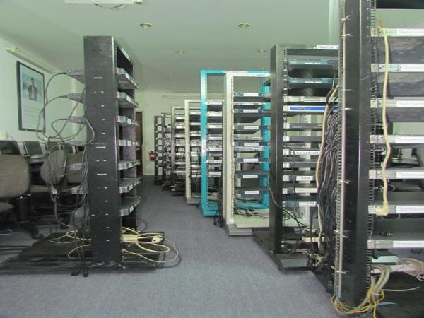 Một số Rack thiết bị tại VnPro